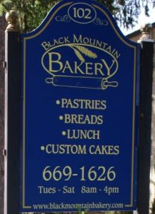 Black Mountain Bakery, Black Mountain, NC