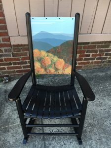 Rocking Chair Artists Leaf Peeping